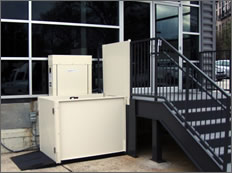 Commercial Vertical Platform Lift